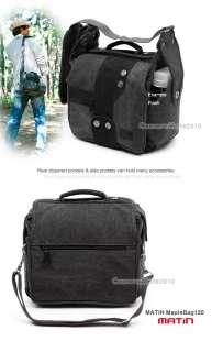 MATIN Maple120(Black) DSLR SLR Camera Shoulder Bag Case