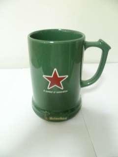 New Green Heineken Beer Mug Glasses Logo Glass Thailand