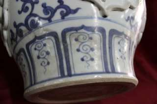 RARE HIGH QUALITY ANTIQUE CHINESE YUAN DYNASTY PORCELAIN VASE
