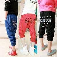 Men Hip Hop Stylish Dance Drop Crotch Harem Pants Short MCH0837