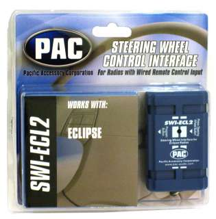 SWI ECL2 PACIFIC ACCESORY CORPORATION STEERING WHEEL CONTROL INTERFACE