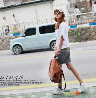 2012 New Women Fashion PU Leather Brown Sports Gym Crossbody Shoulder