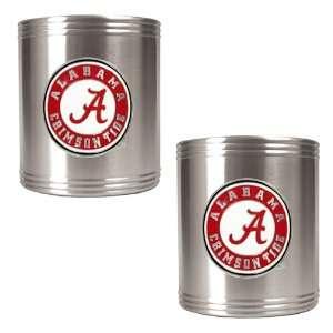 Alabama Crimson Tide 2pc Can Holder Set