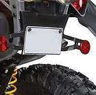 CAN AM RENEGADE 2012 WITH 800 OR 1000 ENGINE LICENSE PLATE BRACKET