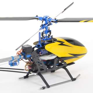 6CH Metal Carbon 450 V2 RC Helicopter RTF For Trex 3D