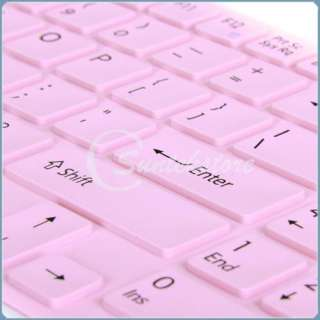 Pink Keyboard Skin Cover Protector For Sony EB Series