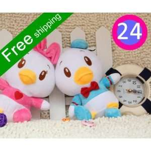 24pcs/lot donald duck dolls donald duck plush toys