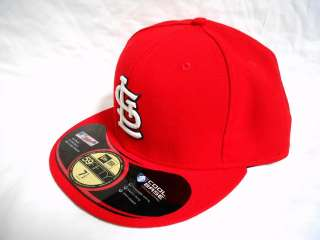 New Era 5950   St. Saint Louis Cardinals HM Home   MLB Baseball Cap