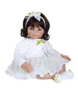 Adora White Daisies 20 Vinyl Toddler Dark Brown Hair Brown Eyes Girl