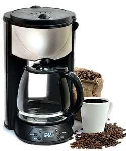 Gevalia 12 Cup Black Stainless Steel Coffee Maker CM500 G70