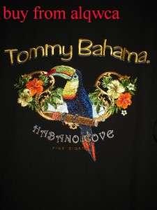New Tommy Bahama Mens Habano Cove Fine Cigar Silk shirt