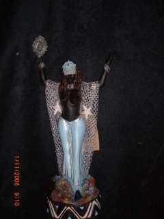 YEMEJA IMEJA AFRICAN YORUBAN ORISHA SANTERIA STATUE