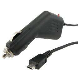 Micro USB Car Charger for Samsung Fascinate/ Galaxy S/ Mesmerize
