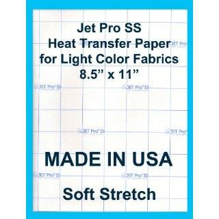 Jet Pro SofStretch Inkjet Heat Transfer Paper 8.5x11