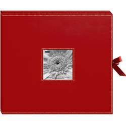 ring 40 Page 12x12 Red Memory Book Box
