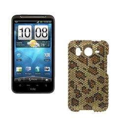 Premium HTC Inspire 4G Leopard Rhinestone Case