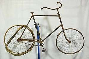 Antique 1900s mystery bike bicycle barn find 1 gear fixed skiptooth