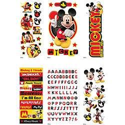 Disneys Mickey Mouse Value Sticker Set (6 Sheets)