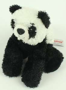Aurora Plush Panda Bean Bag Stuffed Teddy Bear Lovey