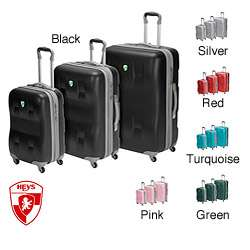 Heys EcoCase 3 piece Spinner Luggage Set