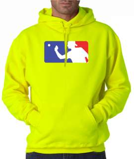 Beer Pong Official Logo Drinking 50/50 Pullover Hoodie