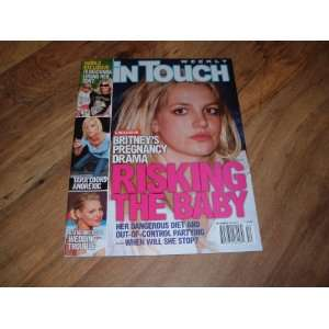 Touch Weekly Magazine December 24, 2007 issue Britney Spears Pregnancy