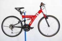 Racing Full Suspension Mountain Bike Kids Woody Woodpecker