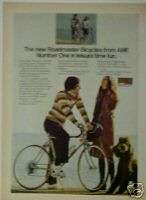 1974 AMF Roadmaster 10 Speed Bicycles/Bike Dog Print AD