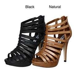 Steve Madden Womens Nusance High Heel Gladiator Sandals