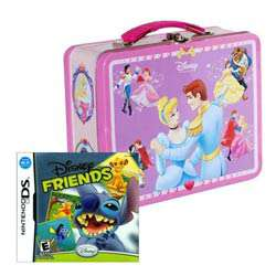 NinDS   Disney Friends and Disney Princess Lunch Box