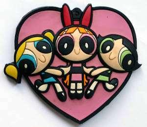 Powerpuff Girls Blossom Buttercup Bubbles Fridge Magnet