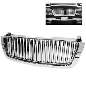 Chrome Front Grille 1PC (Require HD YD CS03 1PC Headlight) Automotive