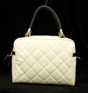 Women Genuine Leather Boston Tote Bag Designer Handbag Luggage Duffel