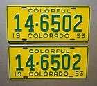 White Mountain License Plates Car Tags Stickered BULK LOT
