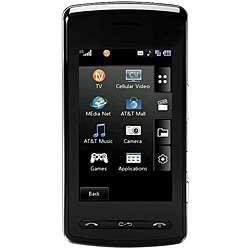 VU CU920 Black GSM Unlocked Cell Phone (Refurbished)