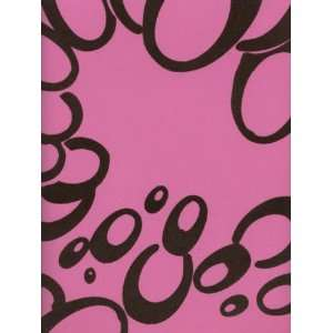 Wallpaper Astek Velvet Collectibles III Hot Pink VC0813