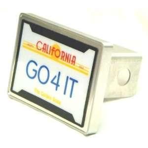 California License Plate Hitch Cover