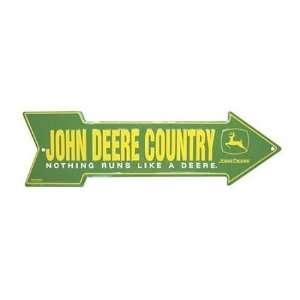 John Deere Arrow Sign: Home & Kitchen