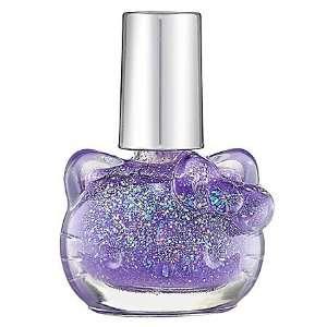 Hello Kitty Liquid Nail Art Purple Sprinkles 0.304 oz