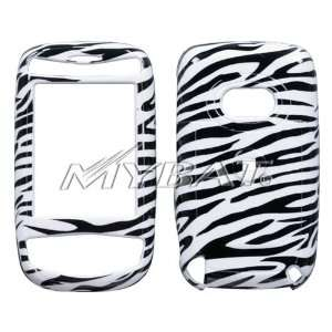 Zebra Skin Phone Protector Cover for HTC MDA Cell Phones