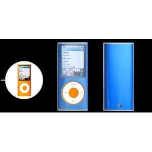 Textured Hard Aluminum Cover Case for iPod Nano~blue