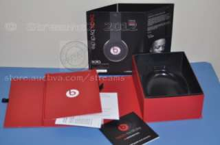Monster Beats by Dr. Dre. Studio Headphones *BOX w/ Manuals ONLY   NO