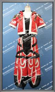 Kingdom Hearts Sora Valor Form Cosplay Costume Size M
