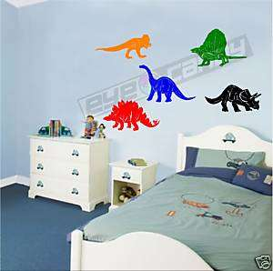Dinosaurs Wall Stickers Decals Removable Wall Art Decor