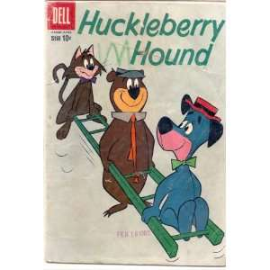 HUCKLEBERRY HOUND # 4, 2.0 GD Dell  Books