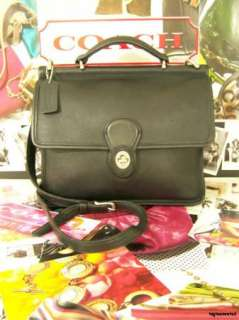 CLASSIC Black Nickel COACH Willis Bag Purse Handbag 9927 Shoulder