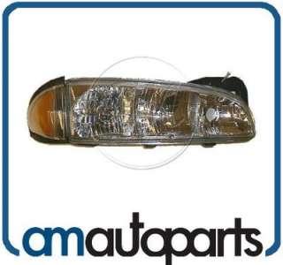 96 99 Pontiac Bonneville Headlight Headlamp RH Right Passenger Side