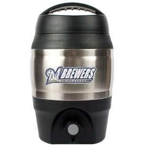 Milwaukee Brewers 1 Gallon MLB Team Logo Tailgate Keg