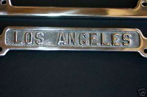 1929 1939 CALIFORNIA License Plate Frame LOS ANGELES LA
