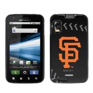 San Francisco Giants   stitch design on Motorola Atrix 4G Case